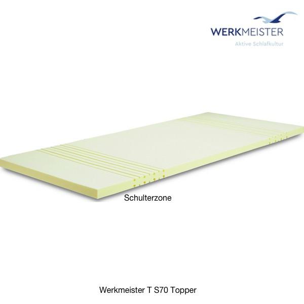 Werkmeister T S70 Topper Kaltschaum