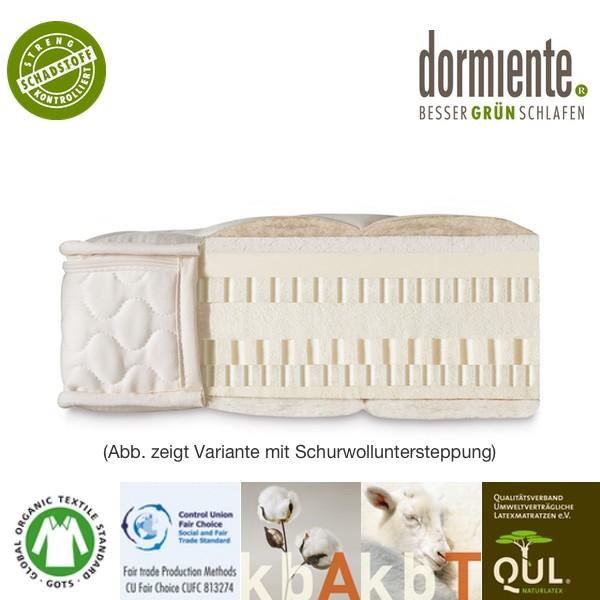 dormiente Natural Eco Naturlatex Matratze