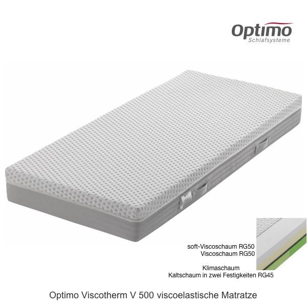 Optimo Viscotherm V 500 Visco Matratze