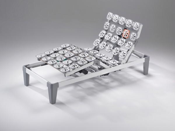 Froli Viado Tellerrahmen 4-motorig 90x200 cm Einlegerahmen Ausstellungsstück Sonderpreis