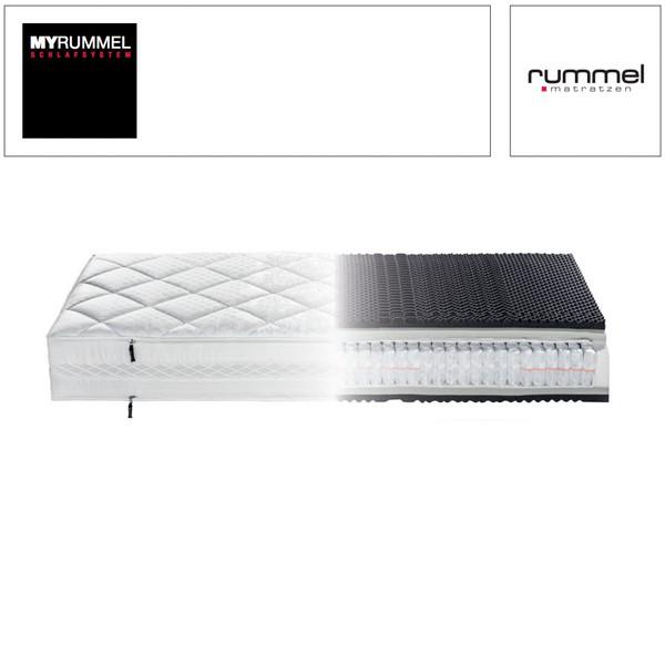 Rummel MyRummel MY 600 T Kaschmir-Drell Bezug Taschenfederkern-Matratze